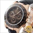 Article regular for Rolex Daytona Ref.116515LN エバーローズゴールドセラミックベゼルブラウンダイアル 2,013 years