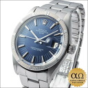 Rolex Oyster Perpetual desite blue dial, finely engine turned bezel Ref.1501 1971 SS automatic winding Sir.277xxxx