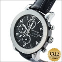 Century elegance chronograph GMT Ref648.7.D.75i.12.15D.CXM SS black dial