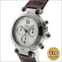 Cartier Pasha chronograph 38 mm Ref.W3103055 Silver Dial stainless steel caseback around 2000