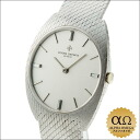 Vacheron Constantin tonneau hand winding Ref.2095 white gold bracelet diamond set Silver Dial 1970's