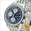 Breitling old Nabi timer Ref.A13022 stainless steel blue dial 2003