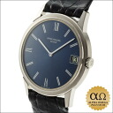 Patek Philippe Calatrava Ref.3593 white gold blue Roman dial-1973 years ago after never Polish