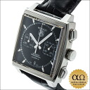 Tag Heuer Monaco chronograph calibre 12 Ref.CAW2110 SS automatic winding caseback 2009 sales
