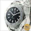 Ref.WJ1110.BA0570 black dial-2004, Tag Heuer link quartz SS