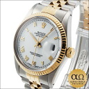 Rolex Datejust Ref.16013 duo SS/YG White Roman dial-1987 years R-