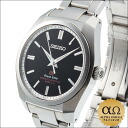 Grand Seiko 9F quartz Ref.SBGX093 9F61-0AD0 SS anti magnetic black dial-2012
