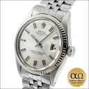 Rolex Datejust SS Ref.1601 white gold bezel Fatboy 1969, 19000-