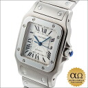 Cartier Santos galbee automatic LM Ref.W20055D6 Silver Dial SS 2000's