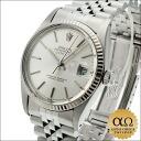 Rolex Datejust SS Ref.16014 white gold bezel Silver Dial-1984, 85000, teen