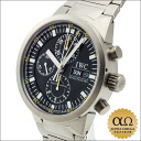IWC international watch company GST Chronograph Rattrapante REF.3710 titanium 2000s