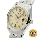 Rolex Oyster date Ref.6294 stainless steel honeycomb dial-1955, 70000-