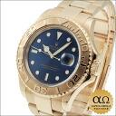 Rolex Yacht-Master Ref.16628B blue dial yellow gold 1999-year U-