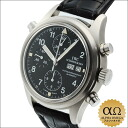 IWC horology company vlieger doppelchrono chart Ref.3711-003 black dial-1997