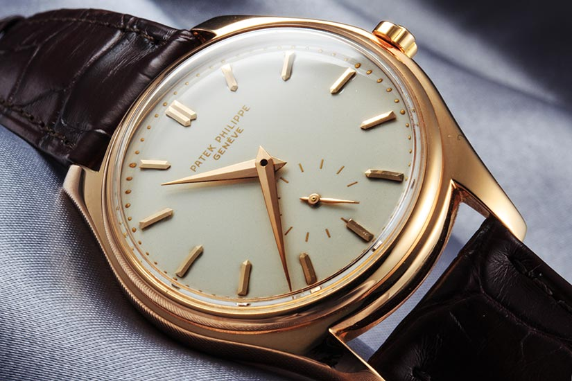 patek philippe calatrava rose gold price