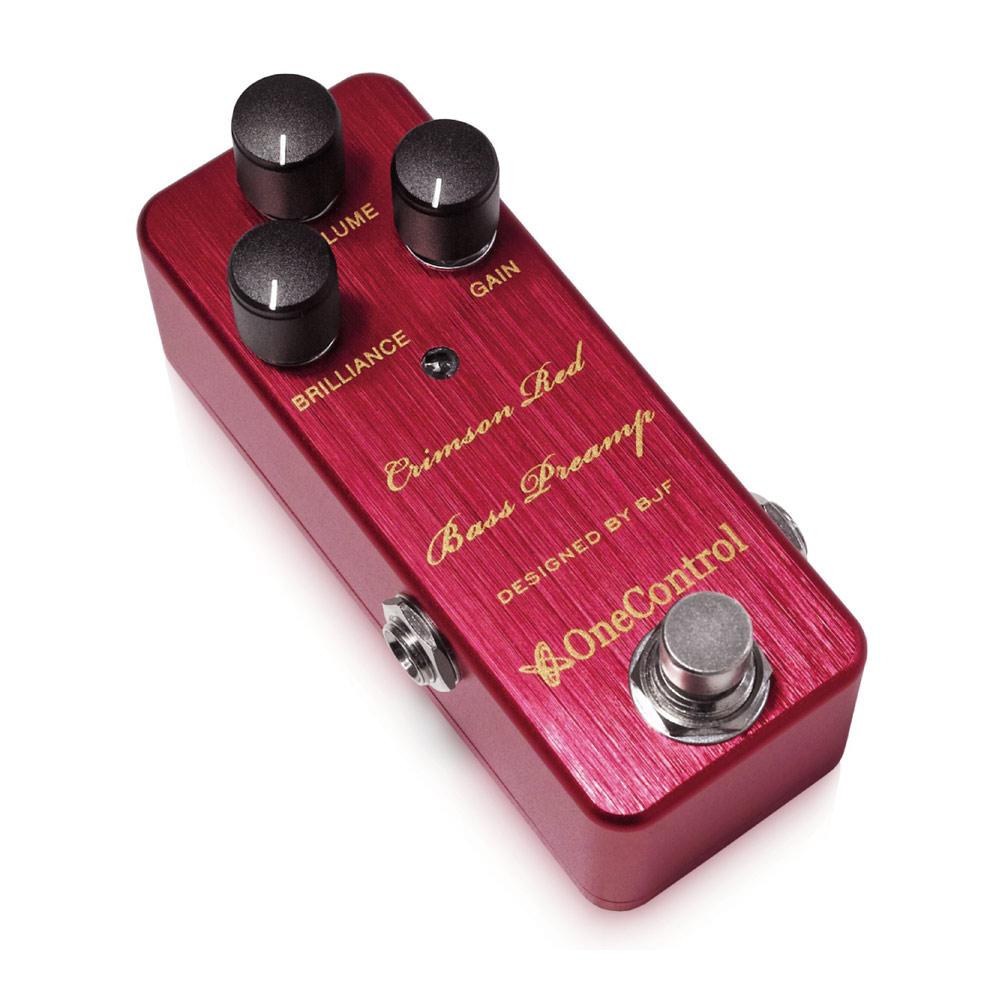 One Control Crimson Red Bass Preamp ���åץ饤�ȥ١������ߥ�졼�ȥץꥢ���