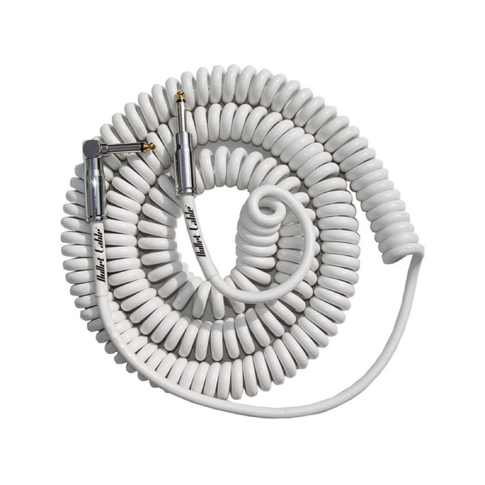 BULLET CABLE BC-30CCW White Coil Cable/�����륱���֥�