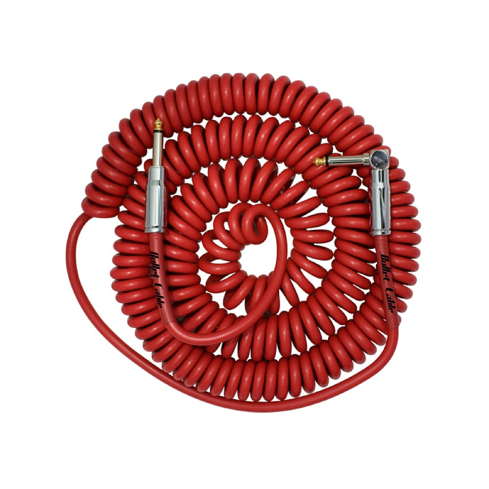 BULLET CABLE BC-30CCR Red Coil Cable/�����륱���֥�