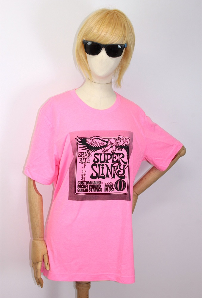 Ernie Ball T-shirt Small Neon Pink �����ѡ�����󥭡� T�����