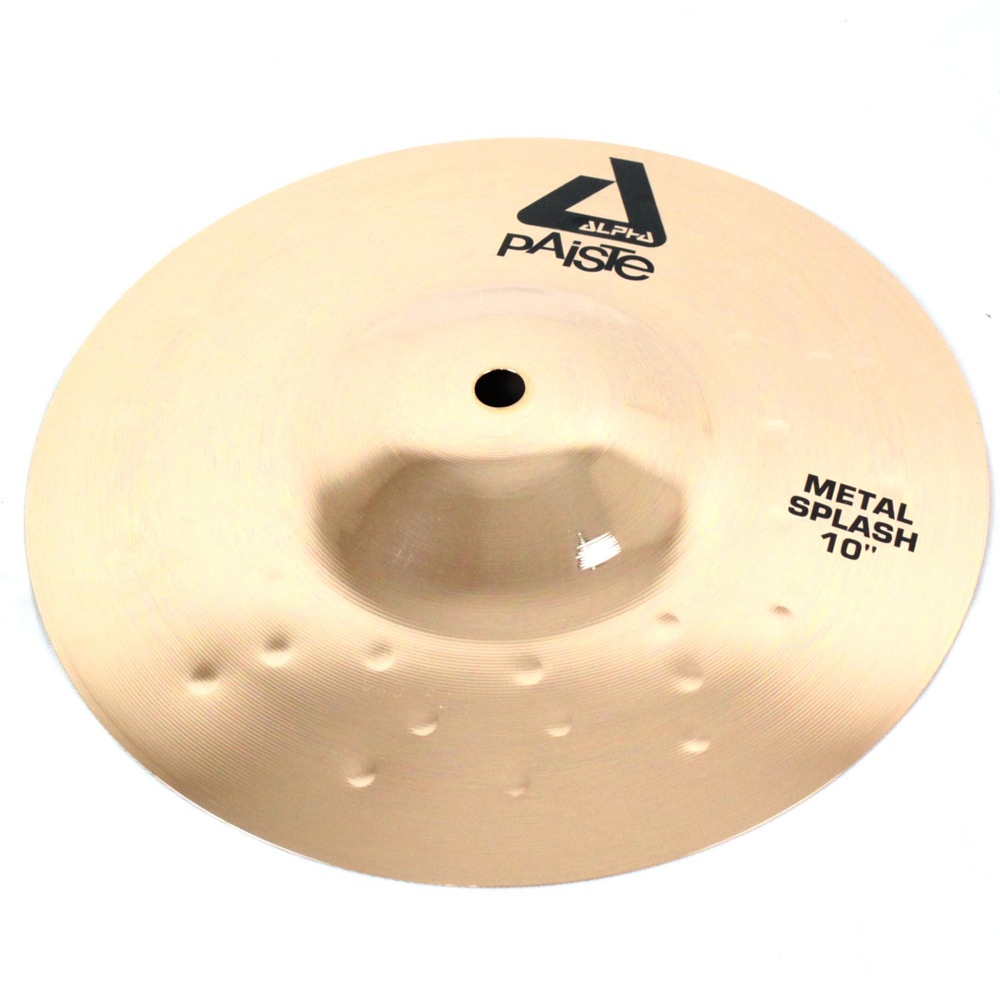 PAISTE Alpha Brilliant Metal Splash 10�� ���ץ�å��奷��Х�