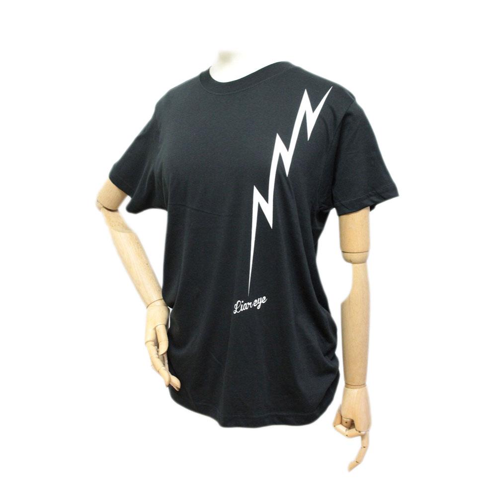 Liar Eye LIGHTING T-shirt BLK S T�����