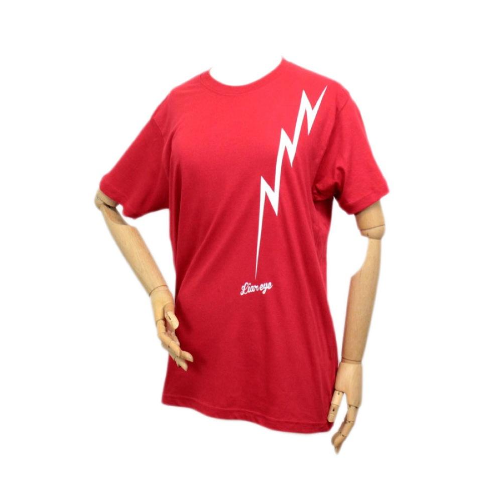 Liar Eye LIGHTING T-shirt RED L T�����