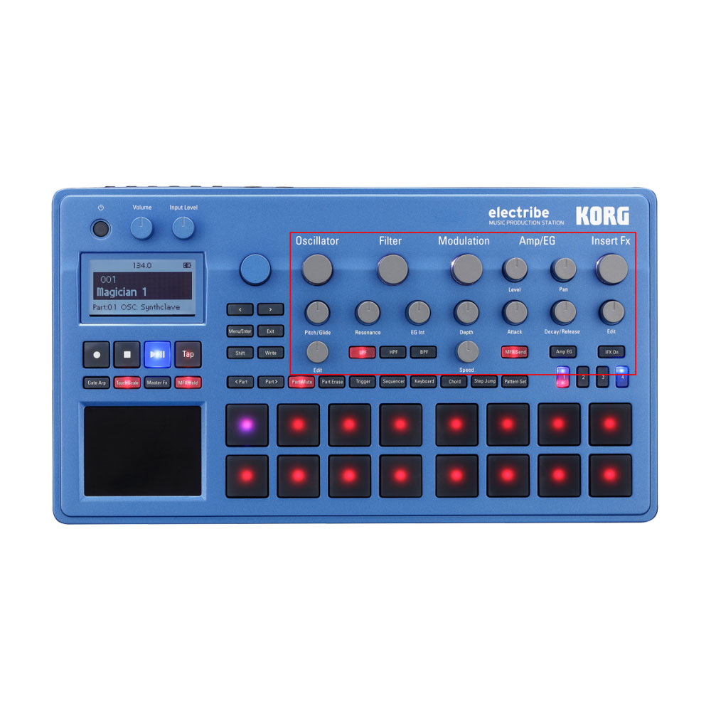 KORG ELECTRIBE2-BL MUSIC PRODUCTION STATION ���쥯�ȥ饤��