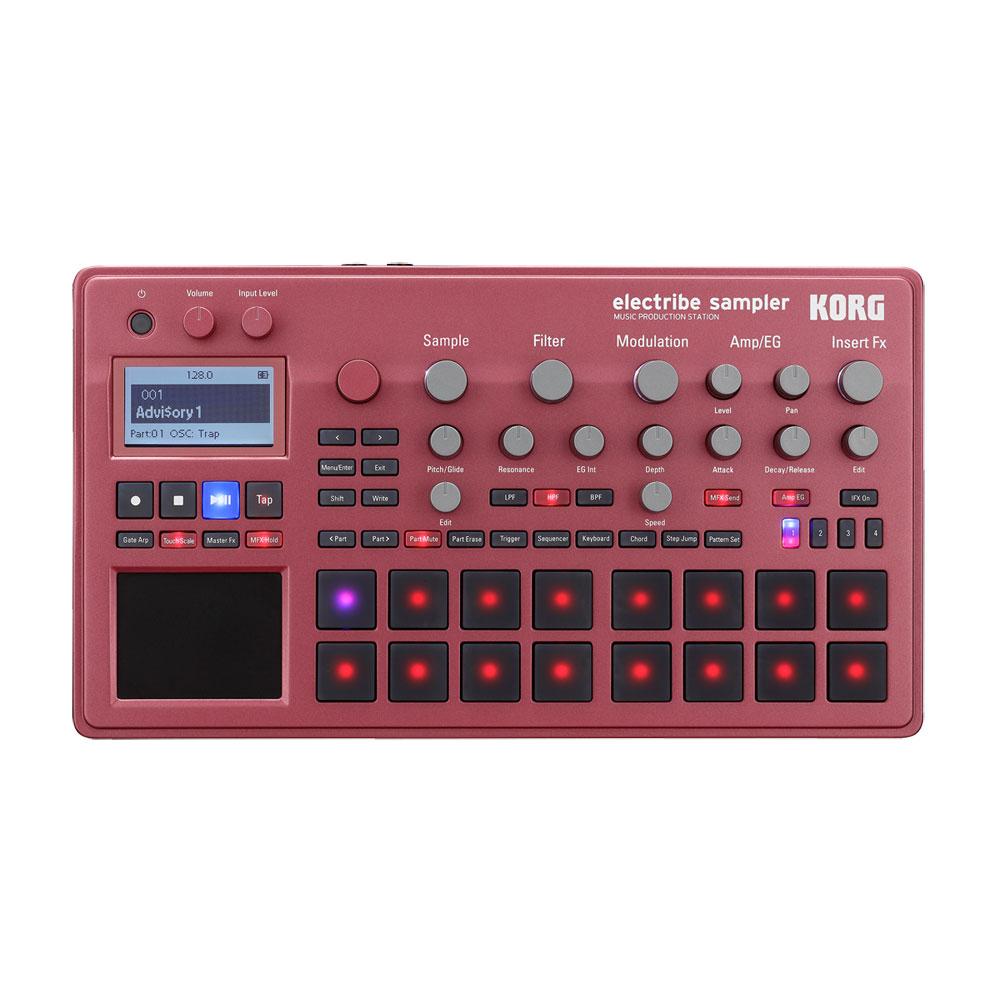 KORG ELECTRIBE2S-RD MUSIC PRODUCTION STATION ELECTRIBE SAMPLER ���쥯�ȥ饤�� ����ץ顼