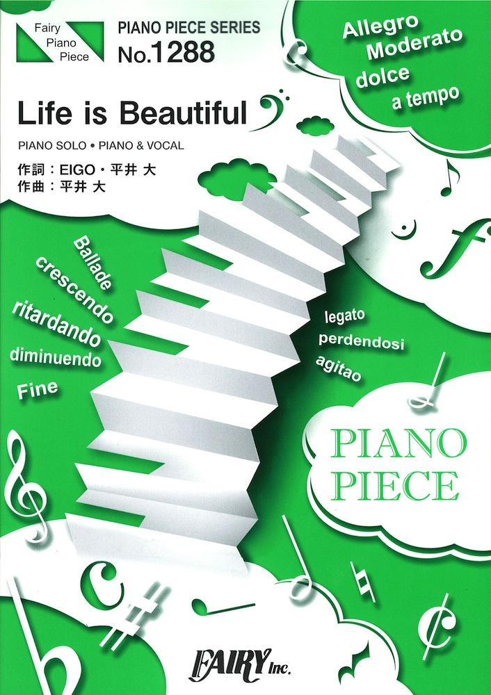 PP1288 Life is Beautiful ʿ�� �� �ԥ��Υԡ��� �ե����