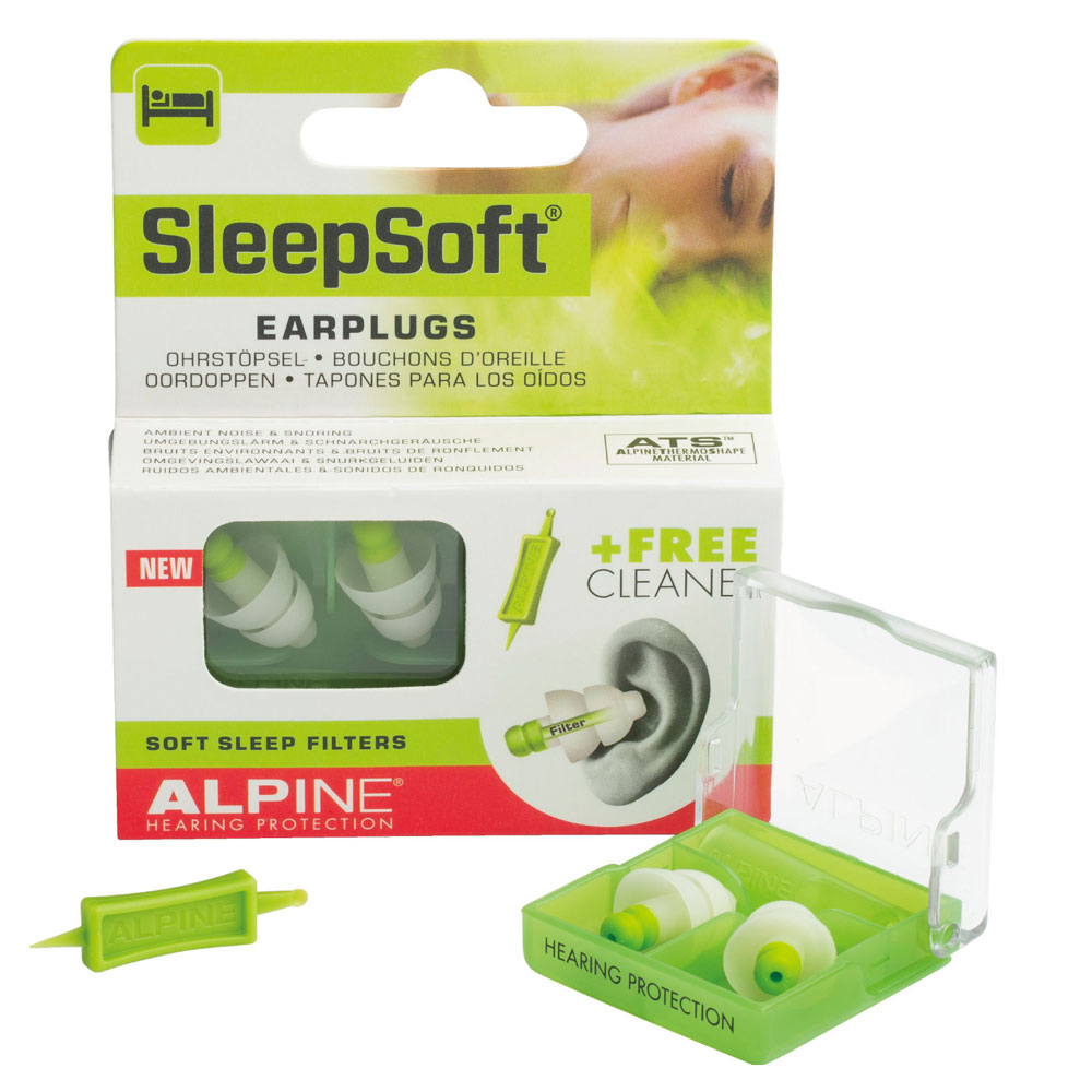 ALPINE HEARING PROTECTION Sleep Soft ��̲���ѥ��䡼�ץ饰 ����
