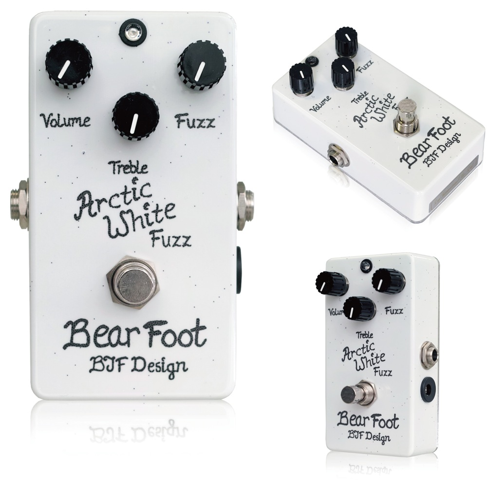 Bearfoot Guitar Effects Arctic White Fuzz ���������ե�������