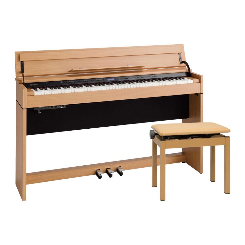 Roland DP603-NBS Digital Piano ナチュラルビーチ調仕上げ デジタルピアノ 専用高低自在椅子付き