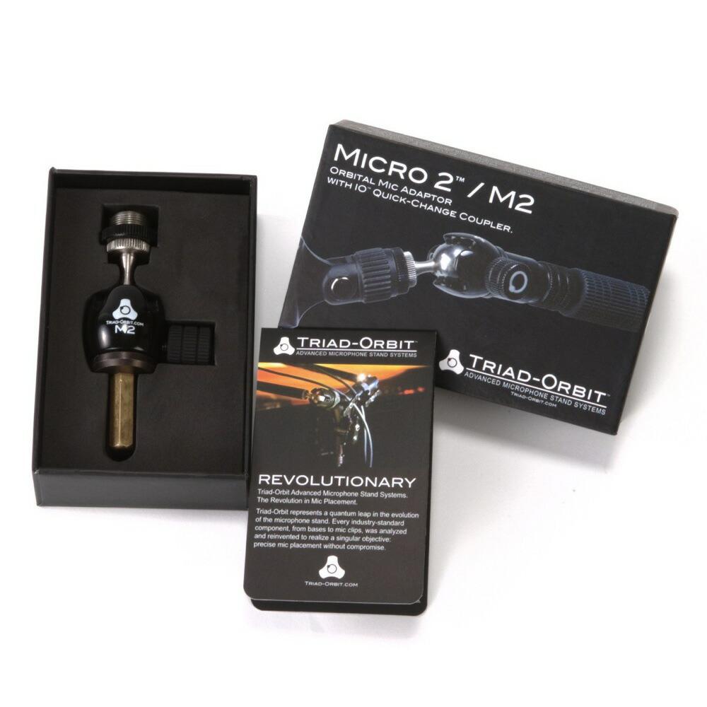TRIAD-ORBIT M2 ショートシャフト マイクアダプター