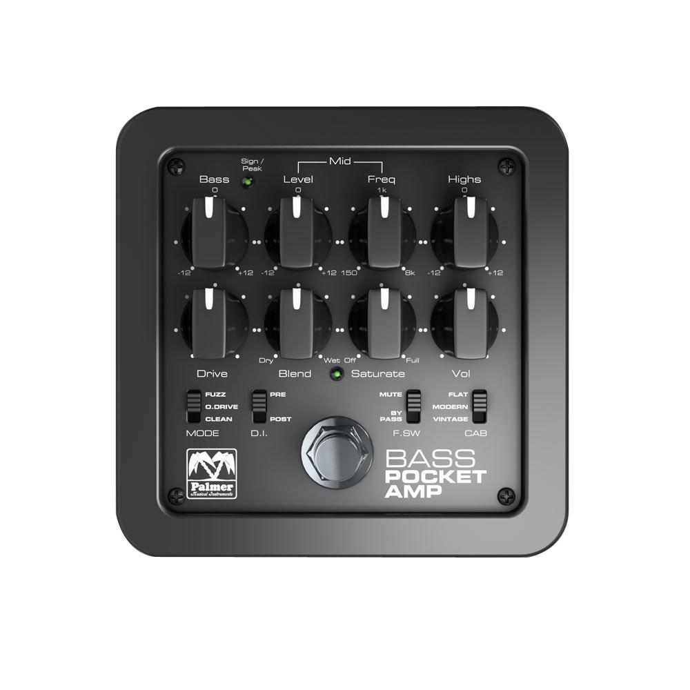 PALMER POCKET AMP BASS ベースプリアンプ アンプシミュレーター DIアウト付き