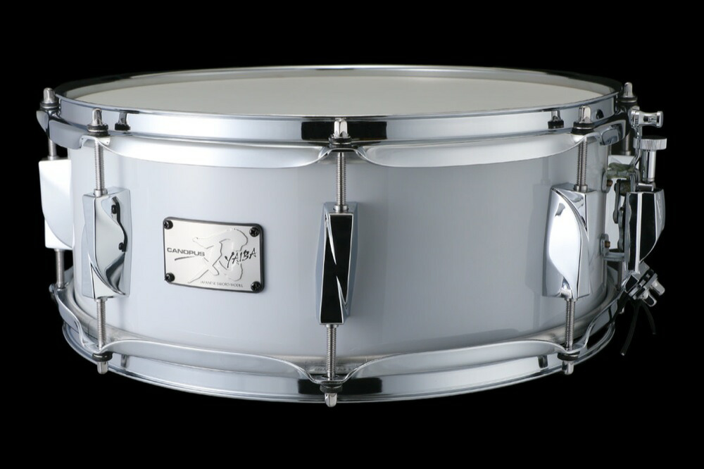 CANOPUS JSB-1455 刃 II Birch Snare Drum Wagen Gray LQ スネアドラム