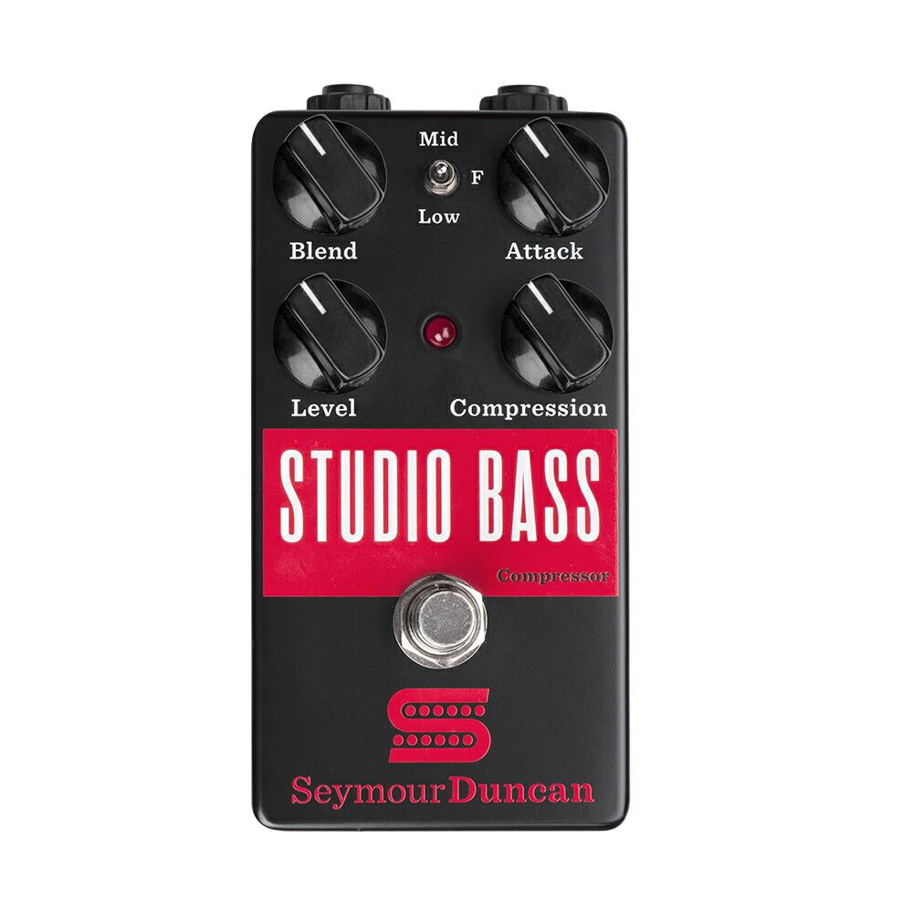 Seymour Duncan Studio Bass Compressor エフェクター