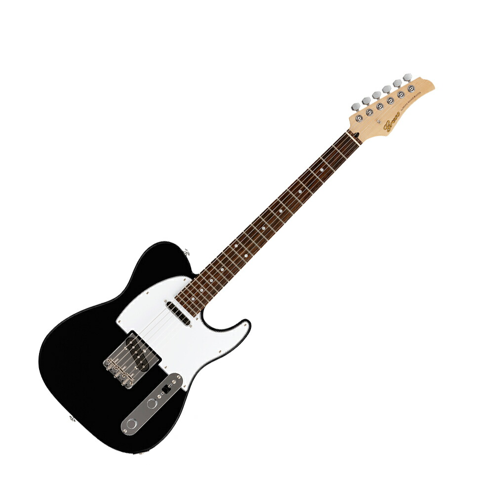GRECO WST-STD BLK Rosewood Fingerboard エレキギター