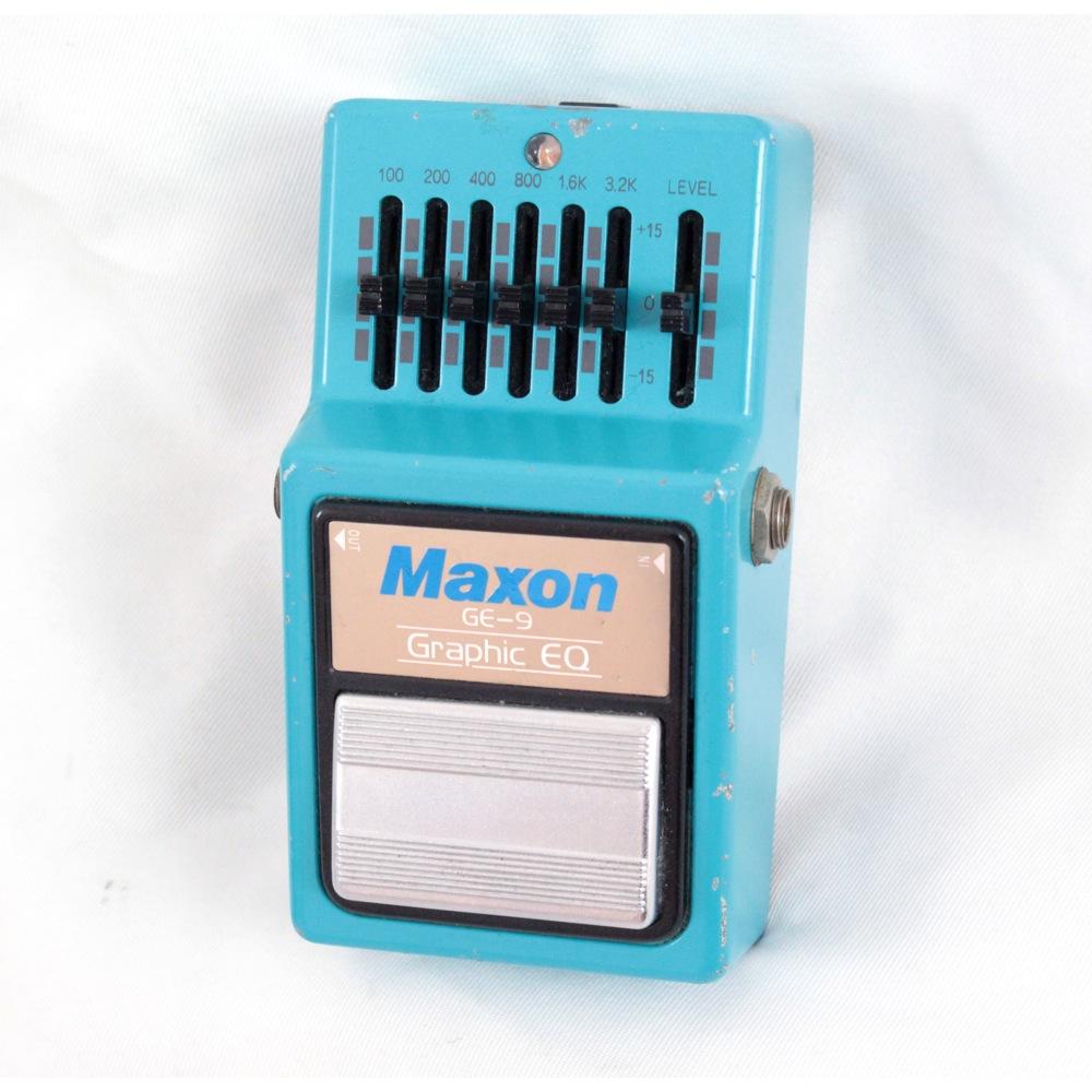 MAXON GE-9 GRAPHIC EQUALIZER 【中古】