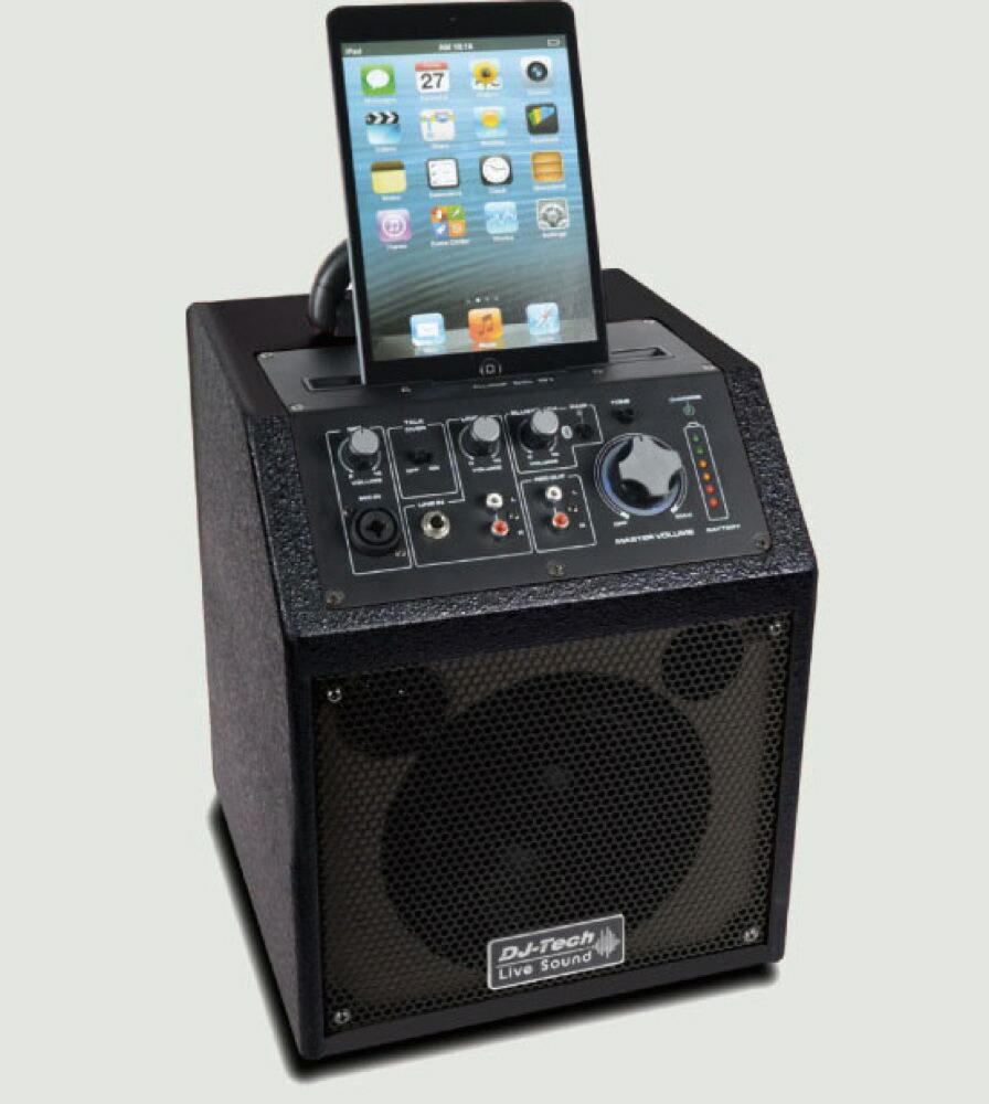 DJ-Tech Cube 66 BT 小型充電式簡易 PA システム