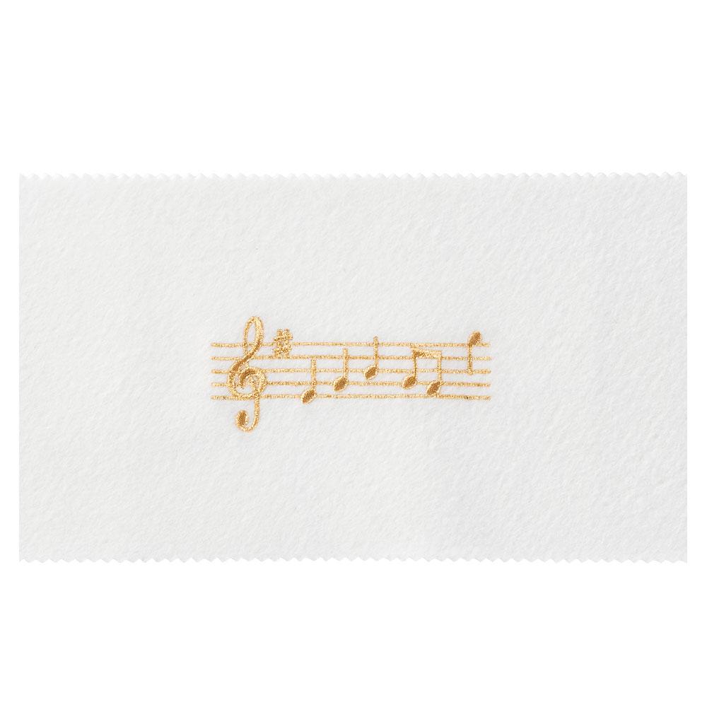 NAKANO CO120KOPWG ピアノキーカバー 音符 ホワイトゴールド