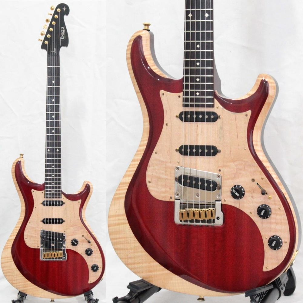 Knaggs Guitars Chesapeake Series Severn Tier 2 Trem Chocolate Cream エレキギター 【中古】