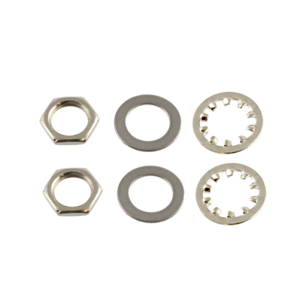ALLPARTS Electronics 4002 Nuts and Washers for USA Pots and Jacks ナットワッシャー