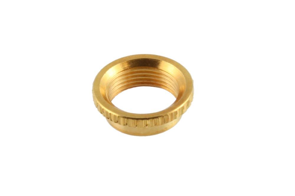 ALLPARTS Electronics 4006 Gold Deep Round Nut トグルスイッチ用ナット