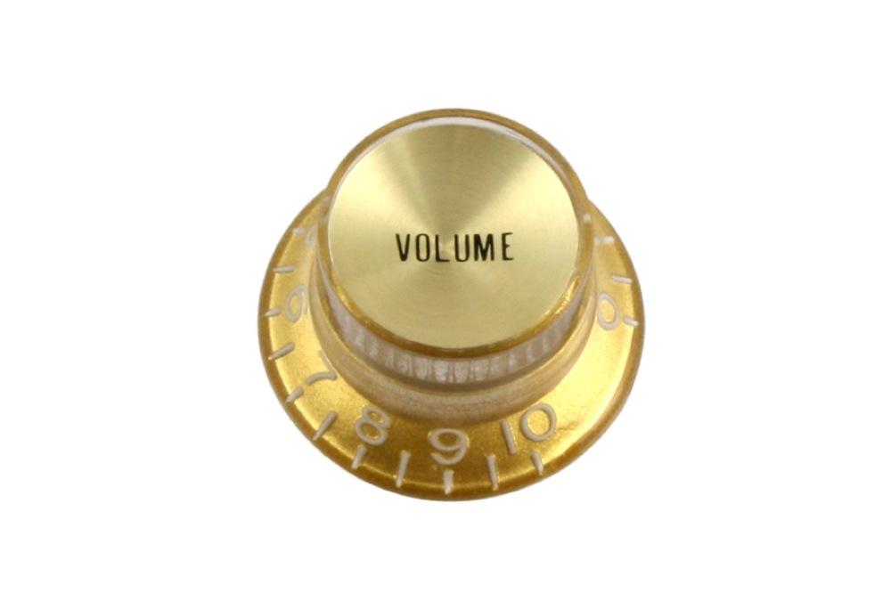 ALLPARTS KNOB 5013 Gold Volume Reflector Knobs コントロールノブ