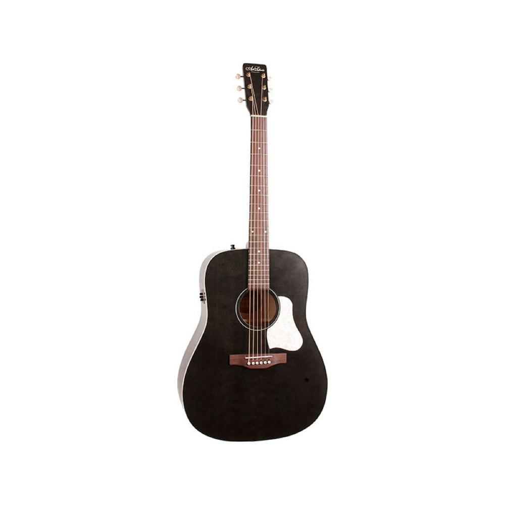 Art&Lutherie Americana Faded Black Q1T エレクトリックアコースティックギター