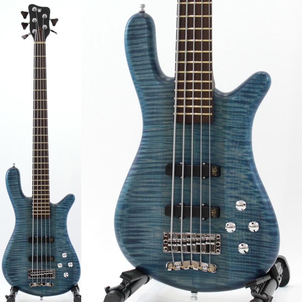 WARWICK CUSTOM SHOP Streamer LX 5-string WWW Bleached Ocean Blue Transparent Satin 5弦 エレキベース