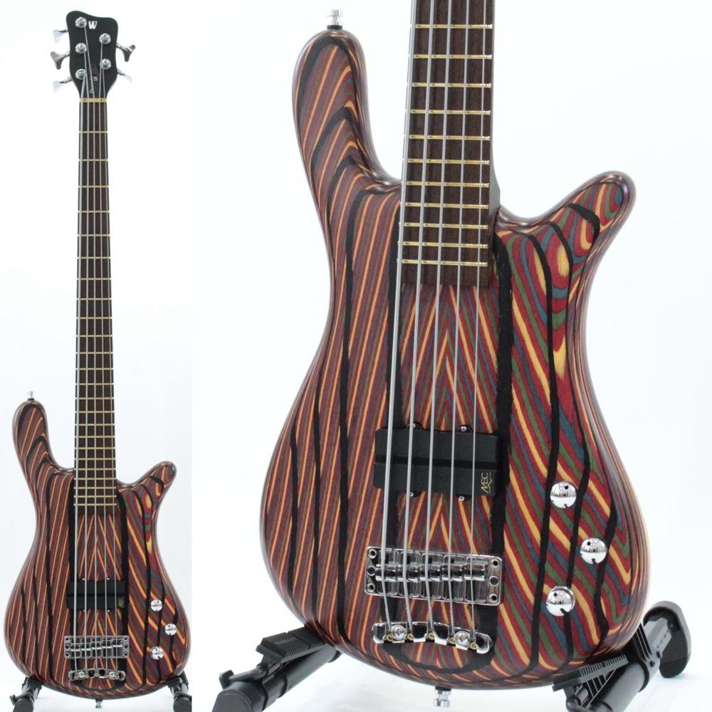 "WARWICK CUSTOM SHOP Streamer LX 5-string 1""Rainbow ply Top / Maple Back 5弦 エレキベース"