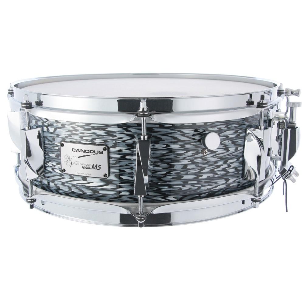 CANOPUS NV60M5S-1465 Black Onyx スネアドラム