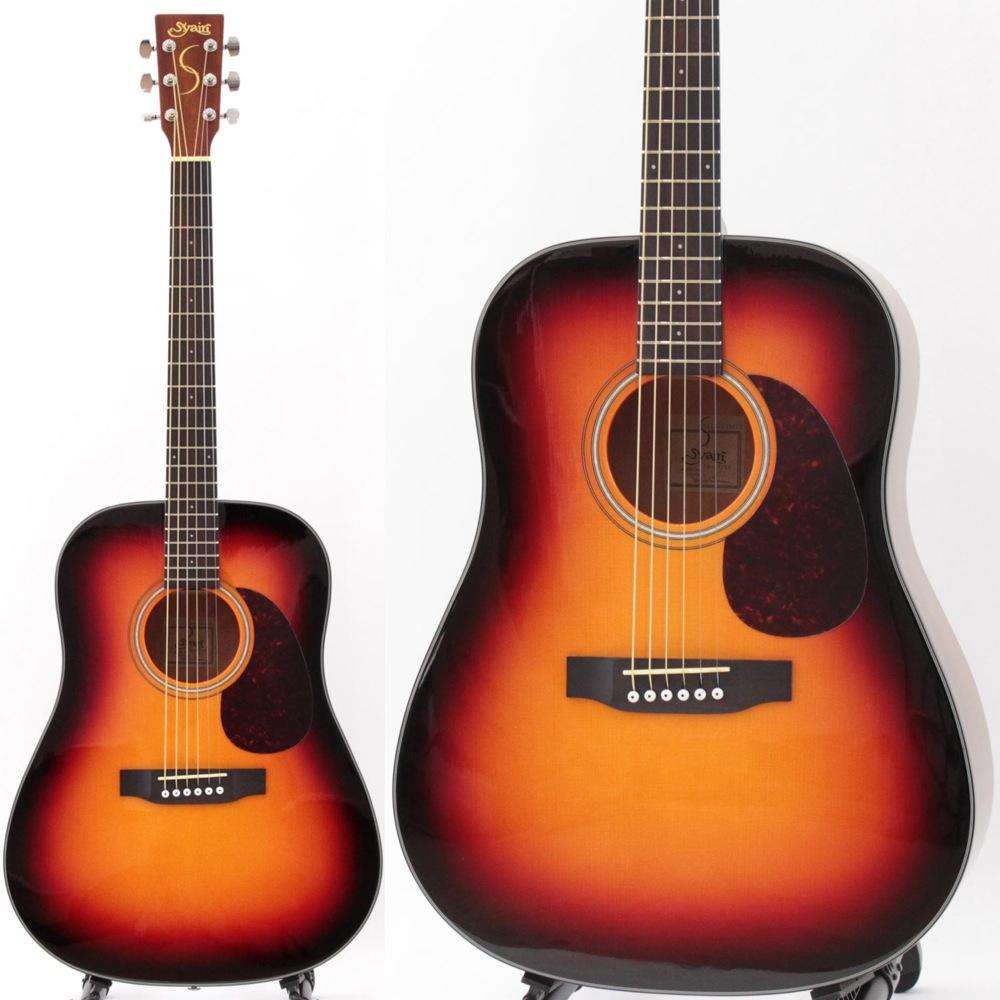 S.YAIRI YD-37 VS アコースティックギター トップ単板モデル