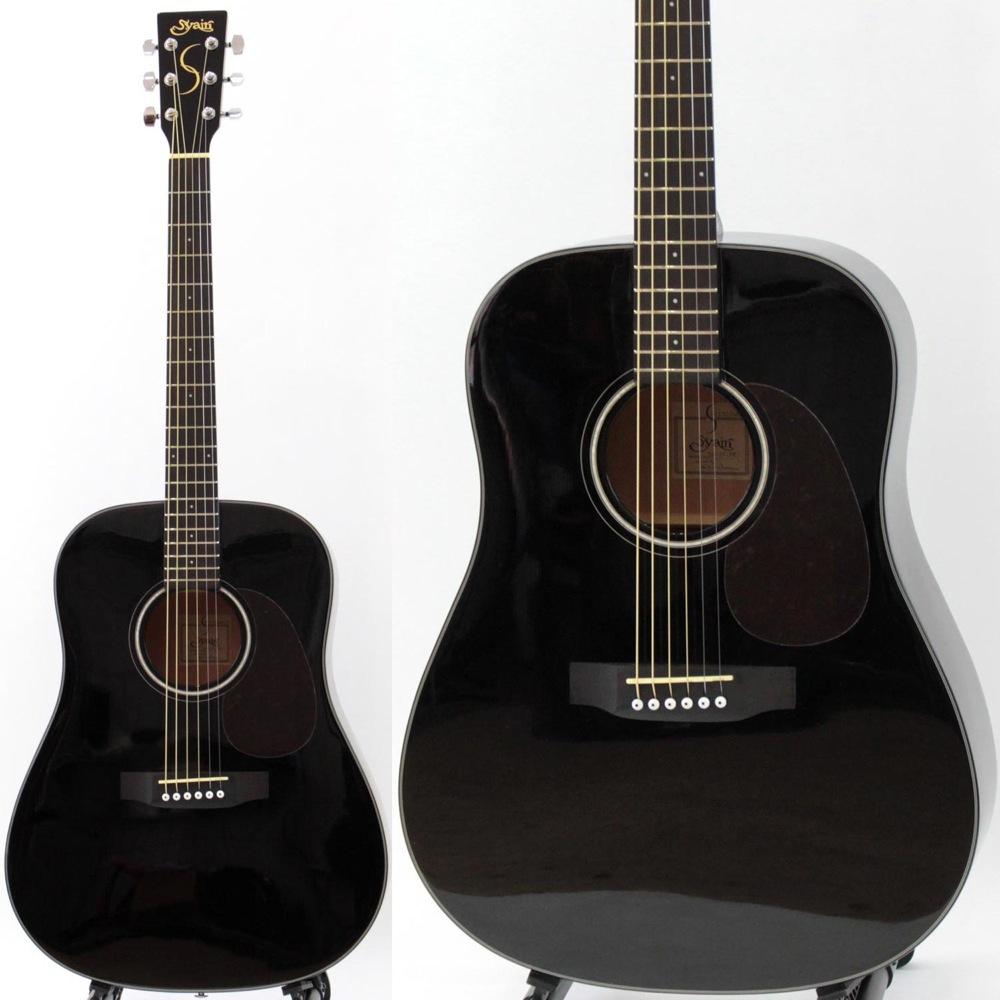 S.YAIRI YD-37 BK アコースティックギター トップ単板モデル